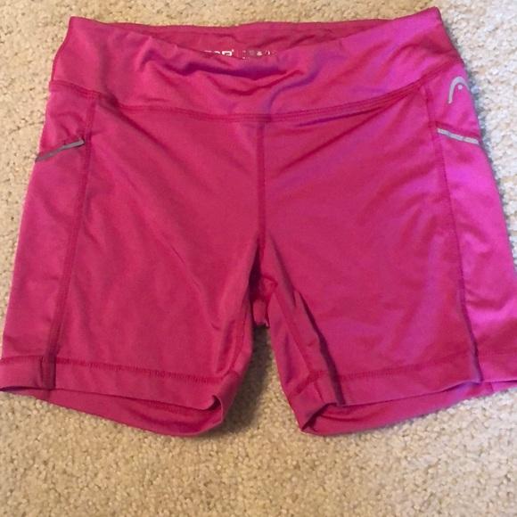 HEAD Small Pink compression shorts EUC 715731f83823
